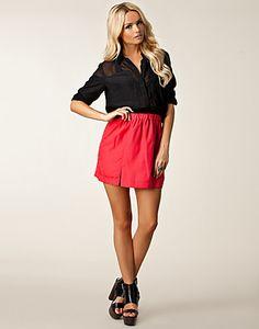 Anja Skirt - Jeane Blush - Rosa - Kjolar - Kläder - NELLY.COM