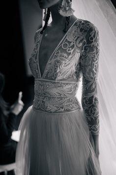Naeem Khan Bridal Fall 2016 via theLANE Supernatural Style Wedding Robe, Wedding Gowns, Naeem Khan Bridal, Wedding Silhouette, Wedding Inspiration, Style Inspiration, Carrie Bradshaw, Elie Saab, Elegant