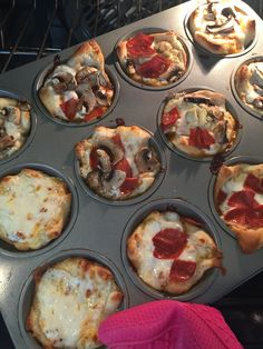 Muffin Tin Pizza * The Typical Mom