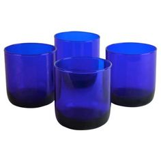 Check out this item at One Kings Lane! Cobat Cocktail Glasses, S/4
