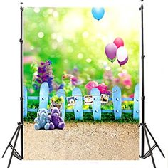 Fantasy Scenic Photography Backdrops Newborn Baby Bear Balloon Fences Photo Backgrounds for Children Studio Props Cute Photography, Background For Photography, Photography Backdrops, Children Photography, Scenic Photography, Newborn Photography, Spring Photography, Photography Backgrounds, Product Photography