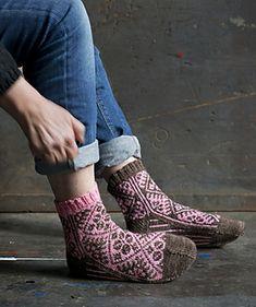 Knitting Pattern Sock - Onnenlehti_small2
