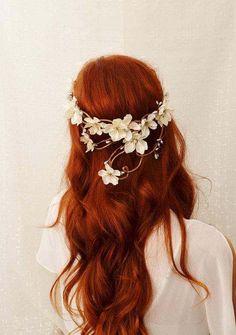 Loose, soft #wedding #hair.