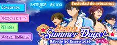 Game on: Summer Days! 2016 - Iquique, Chile, 30 de Enero 2016 ~ Kagi Nippon He ~ Anime Nippon-Jin