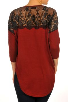 F3023028-Rust-back Fall Collections, Rust, Urban, Blouse, Long Sleeve, Sleeves, Tops, Women, Fashion