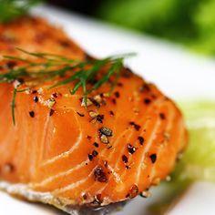 Pavé de saumon et fenouil grillé