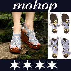Mohop peep toe styling