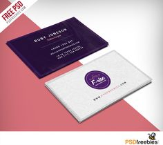 Fashion Designer Business Card Free Psd Psdfreebies Com Business Card Psd Professional Business Cards Templates Free Business Card Templates