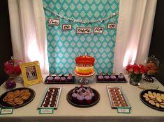 F•R•I•E•N•D•S theme birthday party;
