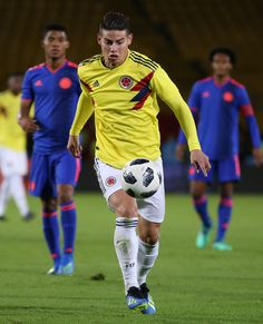 James Rodriguez Photos - James Rodriguez of Colombia in action during a training session open to the public as part of the preparation for FIFA World Cup Russia 2018 on May 25, 2018 in Bogota, Colombia. - Colombia Open Training Session