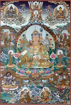 Guru Tsengay - Guru Rinpoches 8 Forms