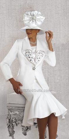 Check out the deal on Donna Vinci 11363 Womens Church Suit at French Novelty Church Attire, Church Dresses, Church Outfits, Dresses For Work, Long Dresses, Women Church Suits, Suits For Women, Clothes For Women, Holiday Suits