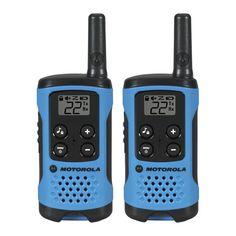 Talkabout Radio Waterproof Rechargeable Two Way Walkie Talkie 2 Pack Blue New #TalkaboutRadioWaterproof