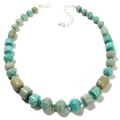"""Jay King Tortoise Butte Turquoise 18-3/4"""" Necklace"""