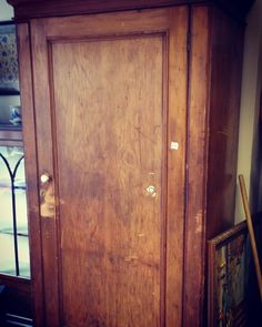 Great Find #pinewardrobe would make a great #hallcupboard or a #nurserywardrobe Can be painted in any colour /finish #paintedfurnitureforsale #nurseryfurniture #victorianchildswardrobe #rustic #essex #victorianwardrobe #lardercupboard #coatcupboard #antiquefurniture #antiquecoatcupboard #antiquefurnitureforsale by ladygarland_