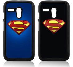 SUPERMAN MOTOROLA MOTO G COVER CASE LOGO BLACK BLUE COMIC RETRO VINTAGE in Cell Phones & Accessories | eBay