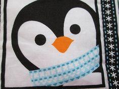 turquoise penguins set of mug rugs Penguin Mug, Mug Rugs, Hand Quilting, Penguins, Christmas Decorations, Kids Rugs, Turquoise, Mugs, Etsy