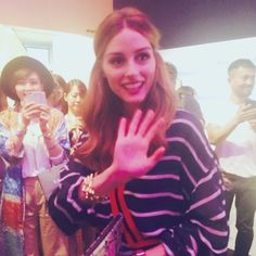 @oliviapalermo was so friendly, stunning and charming Please visit Tokyo soon! #ellewomeninsociety