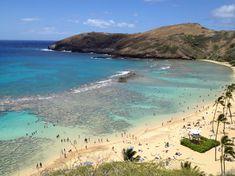 Die Farben der Bucht sind wirklich atemberaubend und zum Schnorcheln ist es auch ein sehr schöner Ort