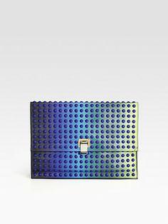 Proenza Schouler Lunch Bag Large Degrade Dots Clutch