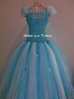 Elsa Inspired Frozen Tutu dress Party Birthday pageant   eBay