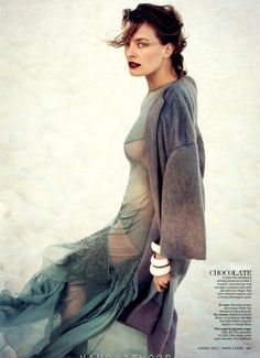 Julia Dunstall   Enrique Badulescu   Marie Claire US August 2012   IndianSummer - 8 Style   Sensuality Living - Anne of Carversville Women's News