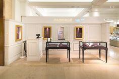Fabergé Pop-up | Egg Bar at Harrods, by Millington Assocaites