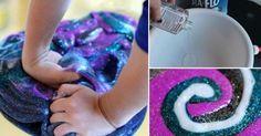 Cómo+hacer+masa+de+galaxia+para+jugar+con+tus+niños