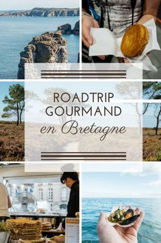 Here is an idea of ​​roadtrip itinerary for a week to 10 days, between land and sea! Source by zigzagvoyages Brest France, Belle France, Road Trip Europe, Brittany France, Atlantic Beach, Travel Around Europe, Roadtrip, Camping, France Travel