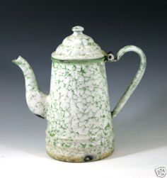 Vintage French coffeepot, ca. 1920