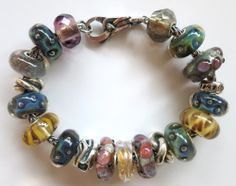 """Playing With Pebbles"" Trollbeads bracelet design by Tartooful"