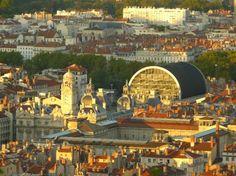 Hôtel de Ville et Opéra de Lyon France