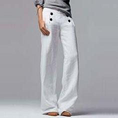 sailor pants from Et Vous