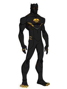 Black Panther Prime Design by KingLeonUniverse Black Panther Storm, Black Panther Art, Black Panther Marvel, Superhero Suits, Superhero Characters, Superhero Design, Marvel Dc Comics, Marvel Heroes, X Men