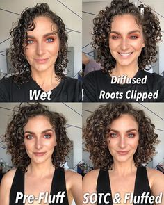 Stages of Washday ☔️🌬🖇🌷🌸 . . I have 4 main stage Thin Curly Hair, Curly Hair Tips, Curly Hair Care, Hair Dos, Curly Hair Styles, Style Curly Hair, Products For Curly Hair, Short Permed Hair, Short Natural Curly Hair