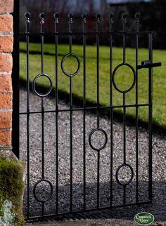 Picasso 3ft(92cm)High Wrought Iron Style Metal Garden Gates