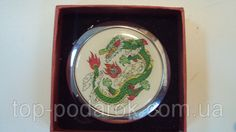 Зеркало карманное в подарочной коробке, фото 1