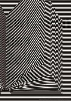 Zwischen den Zeilen lesen (read between the lines) Clark Clark Clark… Poster Design, Book Design, Layout Design, Design Art, Print Design, Op Art, Graphic Design Typography, Graphic Art, 3d Typography