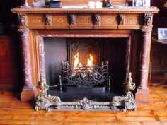 Klassieke inbouw haard met vuur rooster    Profires - inspiratie voor sfeerverwarming