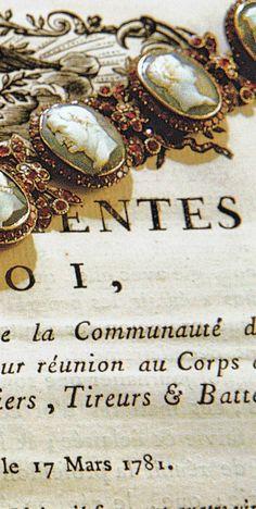 Marie Antoinette's bracelet of cameos & rubies
