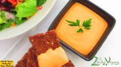 Gluten Free Vegan Raw Red Pepper Hummus Recipe - Check out our raw hummus recipe featuring raw cashews, raw red peppers and delicious spices!