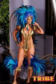 Trinidad Carnival Costumes Designed By Anya Ayoung Chee. #TeamTrini
