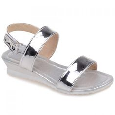 Casual Solid Color and Patent Leather Design Women's Sandals #>=#>=#>=#>=#> Click on the pin to check out discount price, color, size, shipping, etc. Save and like it!