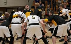 Action photos from men's basketball game against Bluffton Jan. 13.