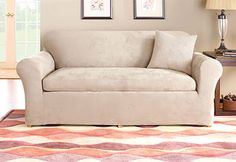 Soft Suede: We know that all furniture is not made alike. That's why we offer #slipcover collections in a variety of styles!