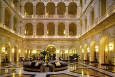 Luxury and culture in the heart of Budapest. Contemporary New York Palace, formerly Boscolo Budapest, is the rethinking of the original edifice built. Grand Hotel Budapest, Best Hotels In Budapest, Palace Hotel, Hotel Lobby, Hotel New York, First Class Hotel, Destinations, Beautiful Hotels, Beautiful Places