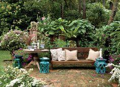 Nice little garden area