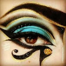 Image result for egyptian ancient time makeup looks