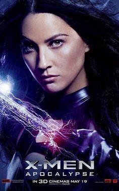 Olivia Munn es Psylocke  #XMen #Apocalypse