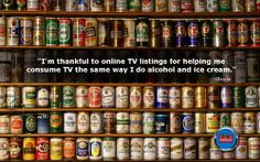 #beer, #TVBinge, #Relaxing, #Downtime Tv Funny, Liquor Cabinet, Alcohol, Thankful, Beer, Rubbing Alcohol, Liquor, House Bar